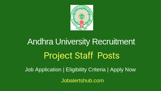 AU Project Staff Job Notification