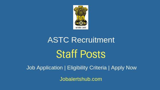 ASTC Staff Job Notification