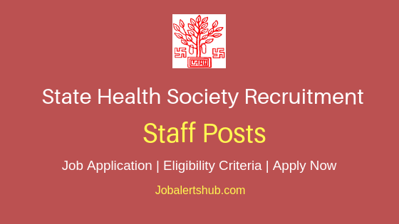 Bihar State Health Society Staff Job Notification