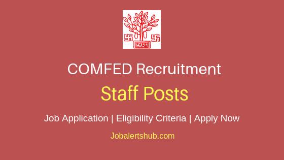 COMFED Staff Job Notification