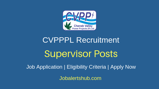 CVPPPL Supervisor Job Notification