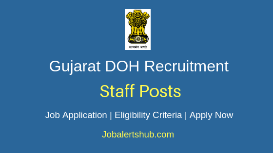 Gujarat Director of Horticulture Staff Job Notification