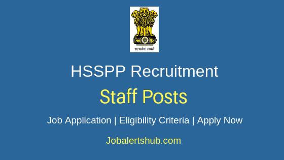 HSSPP Staff Job Notification