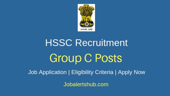 HSSC Group C Job Notification