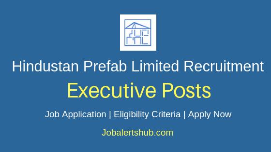 HPL Executive Job Notification