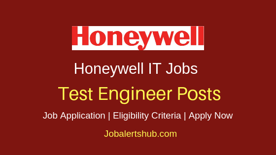 Honeywell Test Engineer Job Notification