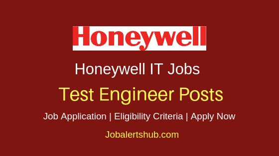 Honeywell Test Engineer Job Notification