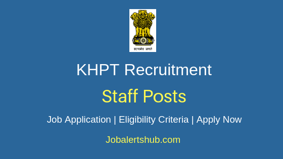 KHPT Staff Job Notification