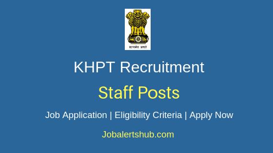 KHPT Staff Job Notification