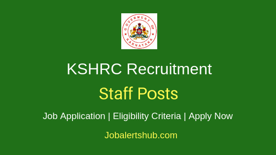 KSHRC Staff Job Notification
