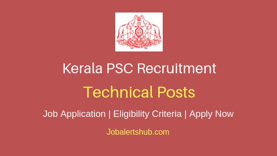 KPSC Technical Job Notification