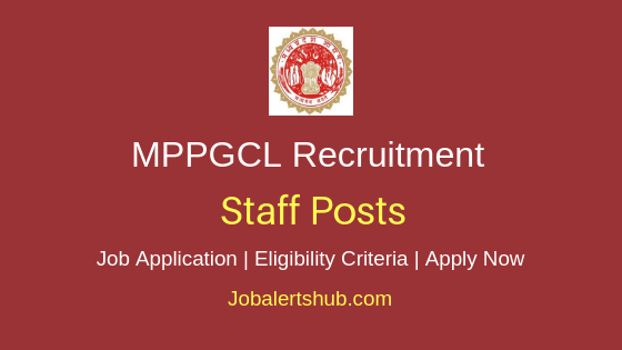 MPPGCL Staff Job Notification