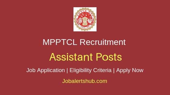 MPPTCL Assistant Job Notification