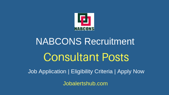 NABCONS Consultant Job Notification