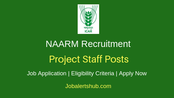 NAARM Project Staff Job Notification