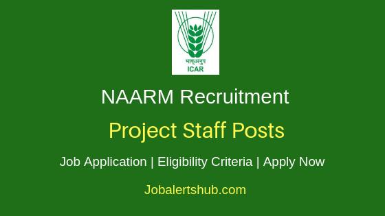 NAARM Project Staff Job Notification