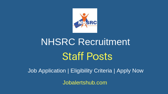 NHSRC Staff Job Notification