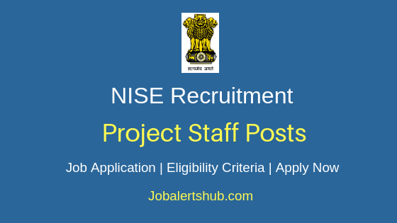 NISE Project Staff Job Notification