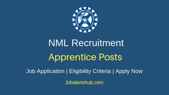 National Metallurgical Laboratory Apprentice Job Notification