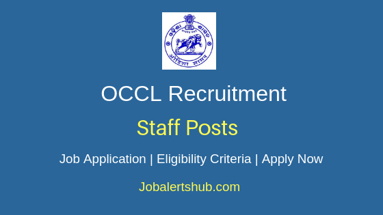 OCCL Staff Job Notification