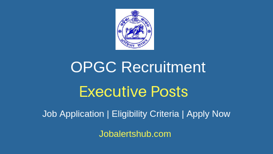 OPGC Executive Job Notification