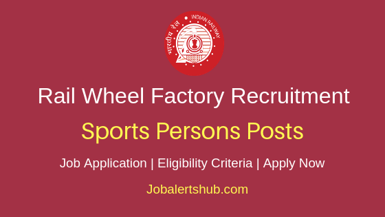 RWF Sports Persons Job Notification