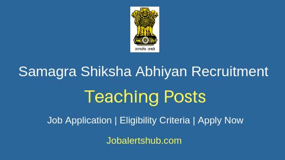 SSA Delhi Teacher Job Notification