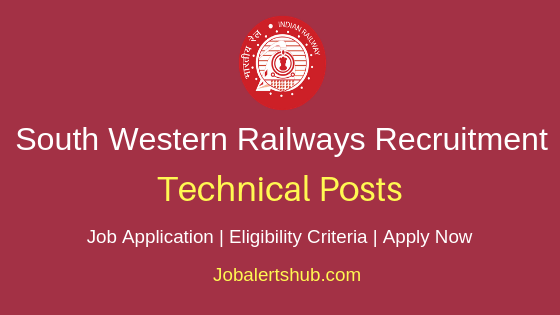 South Western Railways Technical Job Notification