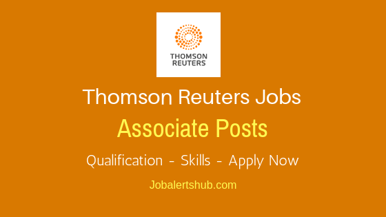 Thomas Reuters India Associate Job Notification