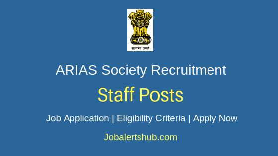 ARIAS Society Staff Job Notification