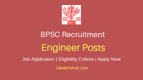 BPSC Engineer Job Notification