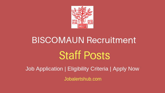BISCOMAUN Staff Job Notification
