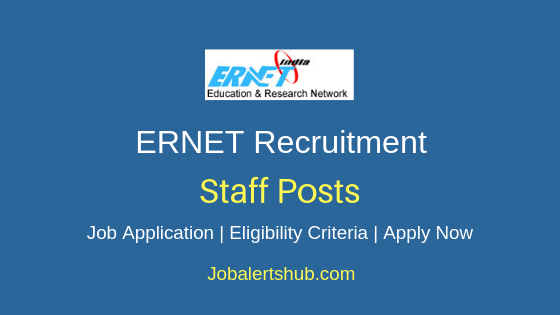 ERNET Staff Job Notification