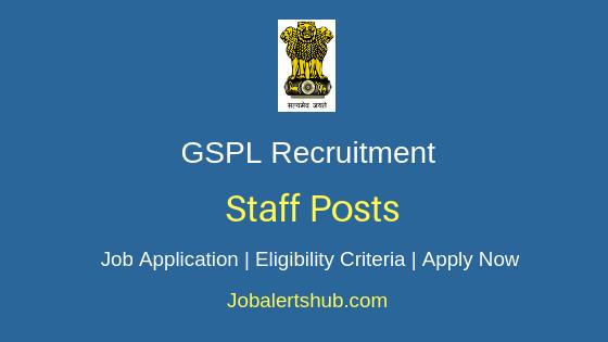 GSPL Staff Job Notification