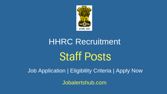 HHRC Staff Job Notification