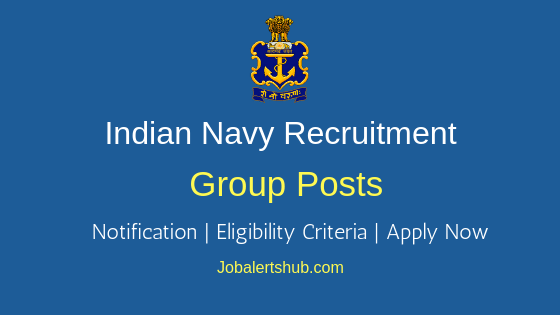 Indian Navy Group Job Notification