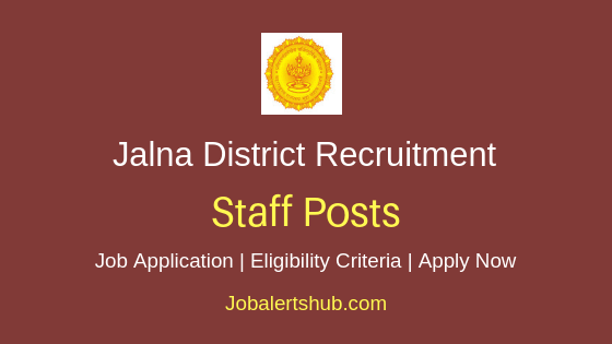 Jalna District Staff Job Notification