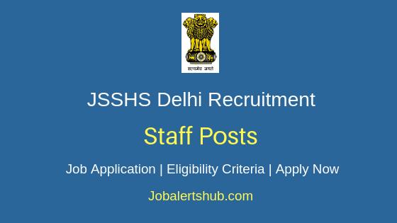 Janakpuri Super Specialty Hospital Staff Job Notification