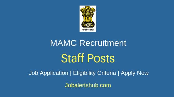 MAMC Staff Job Notification
