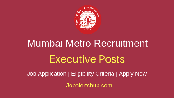 MMRCL Executive Job Notification