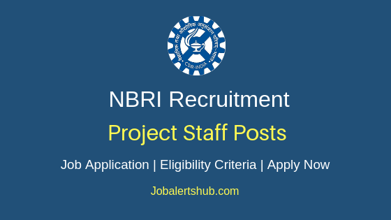 NBRI  Project Staff Job Notification