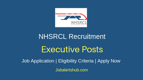 NHSRCL Executive Job Notification