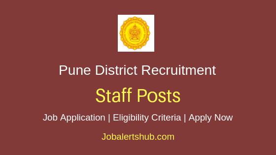 Pune District Staff Job Notification
