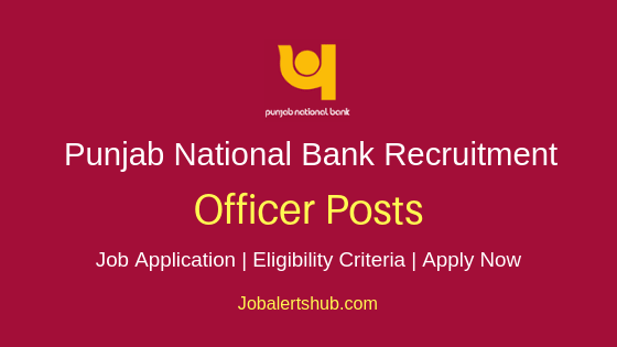 PNB Officer Job Notification