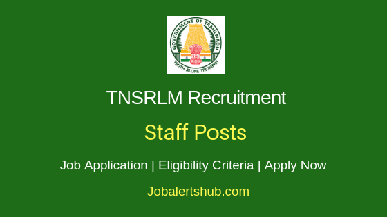 TNSLRM Staff Job Notification