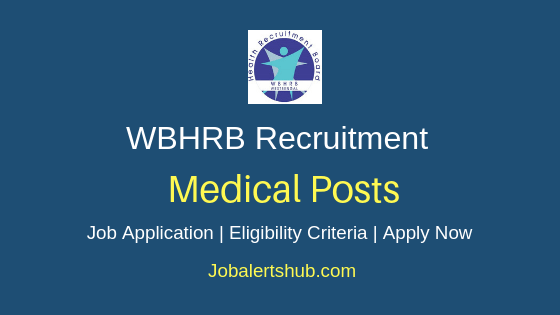 WBHRB Medical Job Notification