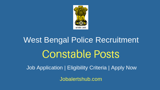 West Bengal Police Constable Job Notification