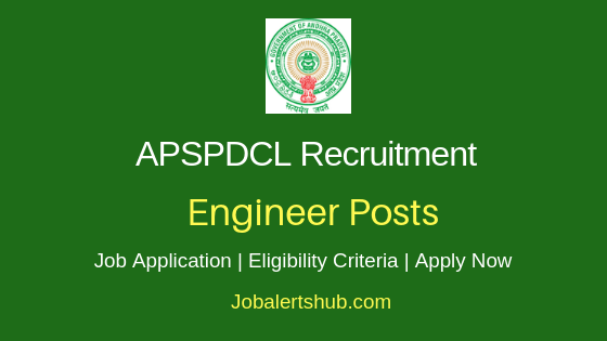 APSPDCL Engineer Job Notification