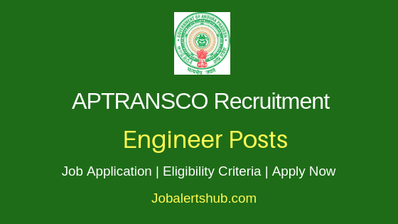 APTRANSCO Engineer Job Notification