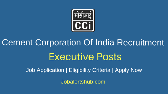 CCI Executive Job Notification